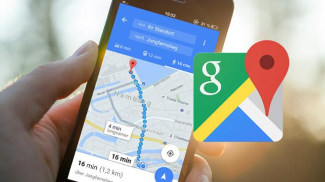 Google Maps - Suche ©Google