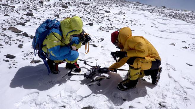 Drohne auf dem Mount Everest ©ProSieben MAXX