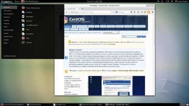 CentOS: Populäres System für Profi-Zwecke ©COMPUTER BILD