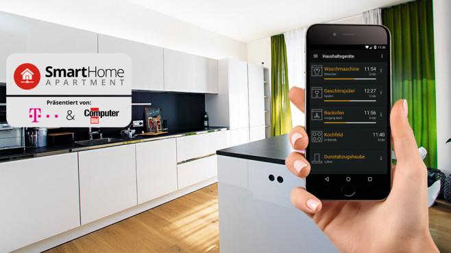 Das Smart Home Apartment ©COMPUTER BILD, Telekom
