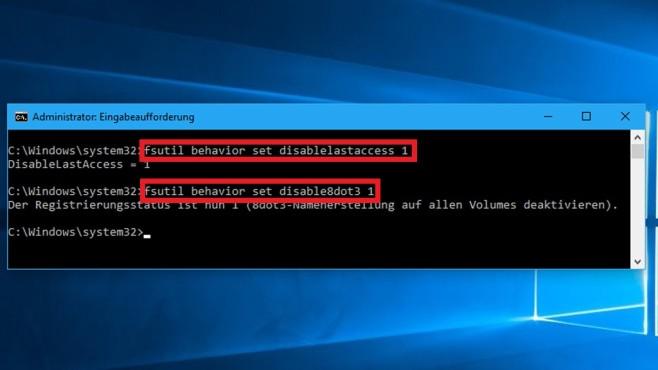 Festplatte entlasten mit fsutil-Befehlen ©COMPUTER BILD