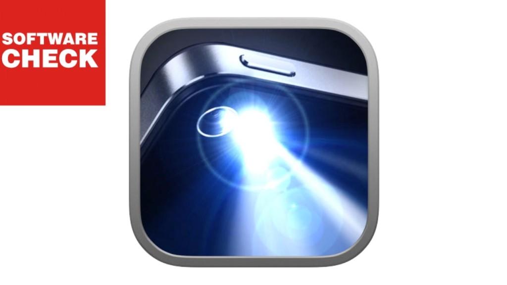 taschenlampe f r das iphone ios app macht licht computer bild. Black Bedroom Furniture Sets. Home Design Ideas