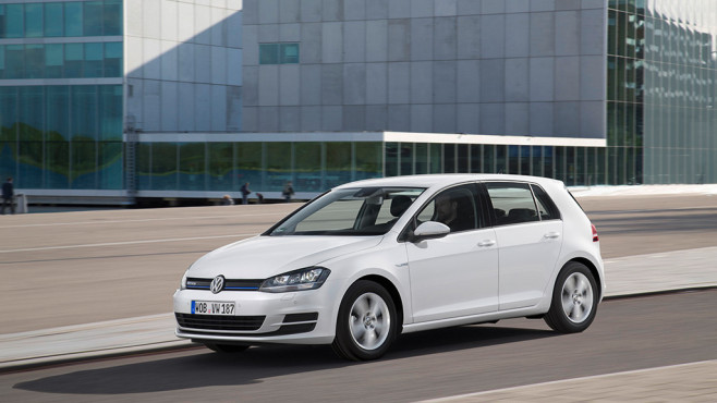 Platz 1: VW Golf © Volkswagen