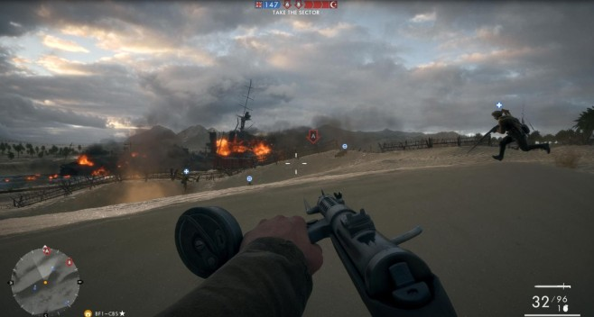 Battlefield 1: Suez © EA Games