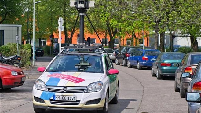Google Fahrzeug ©dpa-Bildfunk