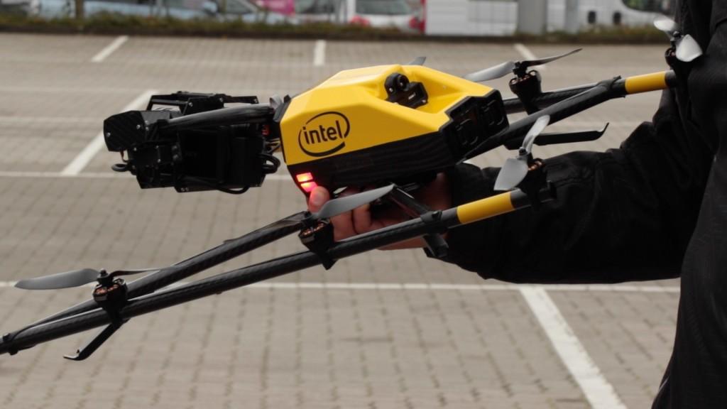 Intel Falcon 8 Plus: Neue Version der Profi-Drohne ...