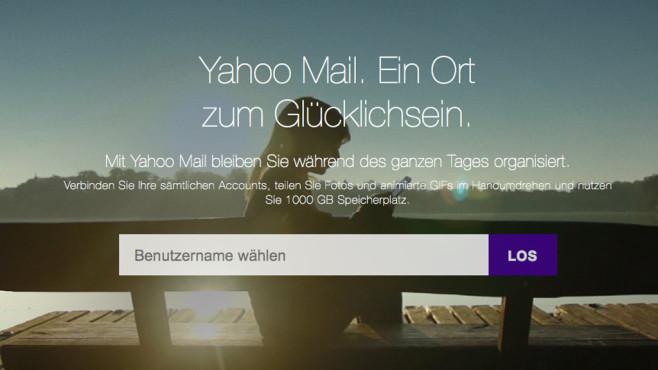 Yahoo Mail ©Yahoo