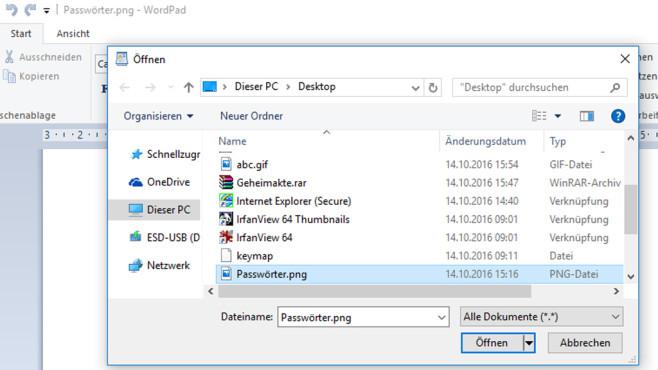 Dateiendung sinnlos ändern ©COMPUTER BILD