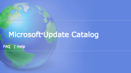 Microsoft Update Catalog ©Microsoft