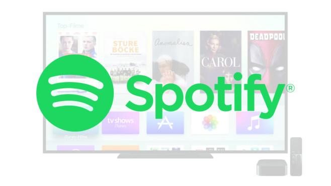 Apple TV ©Apple, Spotify