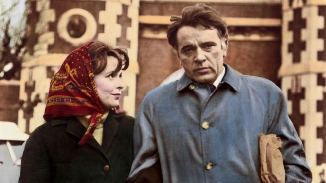 Richard Burton und Claire Bloom © ZDF/Paramount Pictures