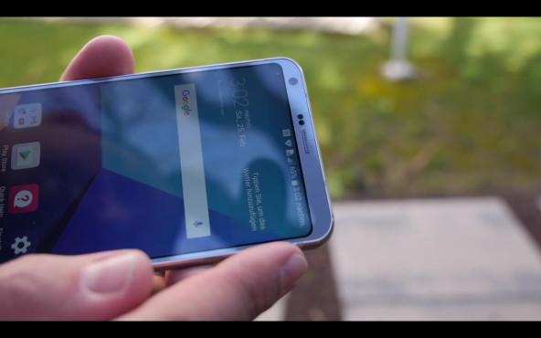 LG G6 im Praxis-Test: Gehäuseseite ©COMPUTER BILD