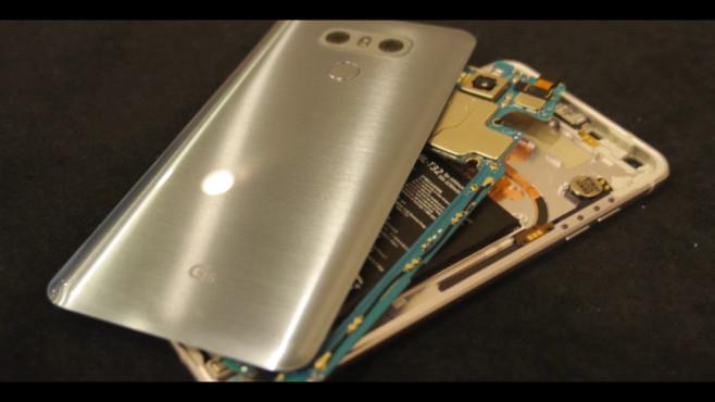 LG G6 im Praxis-Test: Kühltricks ©COMPUTER BILD