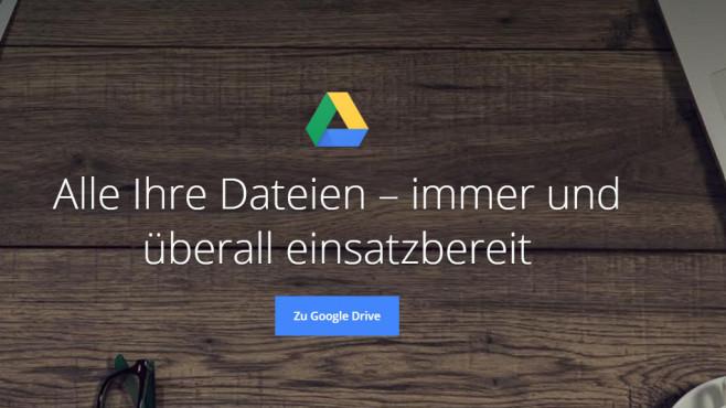 Google Drive ©COMPUTER BILD