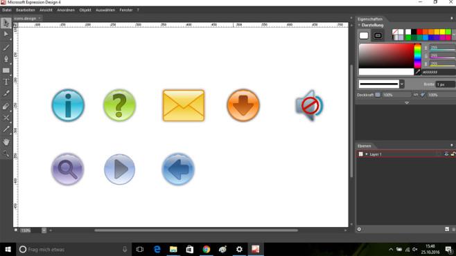 Microsoft Expression Design – Kostenlose Vollversion ©COMPUTER BILD