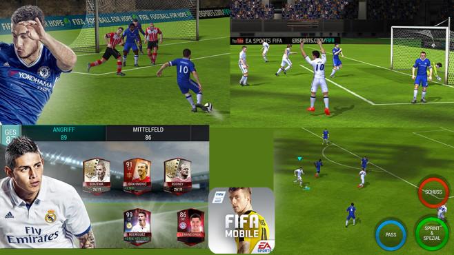FIFA Mobile Fußball ©EA