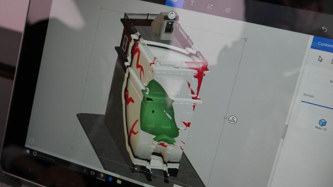 Microsoft Paint 3D ©COMPUTER BILD