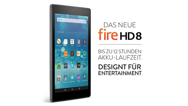 Amazon Fire HD 8: Produktbilder © Amazon