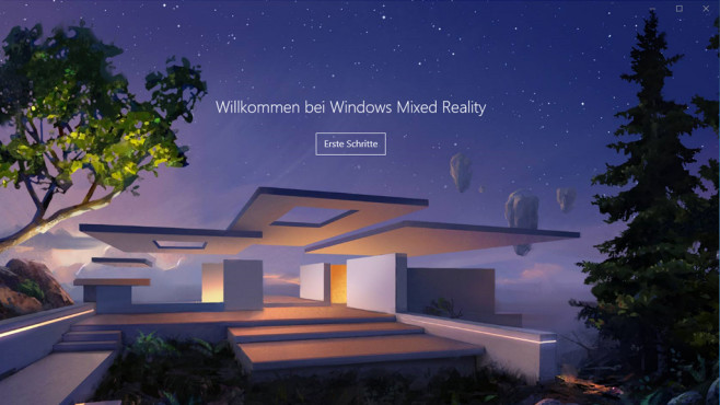 Windows Mixed Reality Portal © COMPUTER BILD