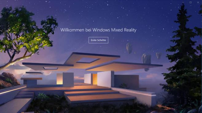 Windows Mixed Reality Portal ©COMPUTER BILD