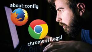 66 Geheimbefehle für Firefox und Chrome ©FireFox, Google, ©istock.com/domoyega