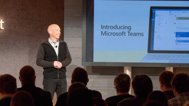 Microsoft stellt Slack-alternative vor ©Microsoft