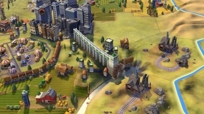 Civilization 6 Aquädukt ©Firaxis