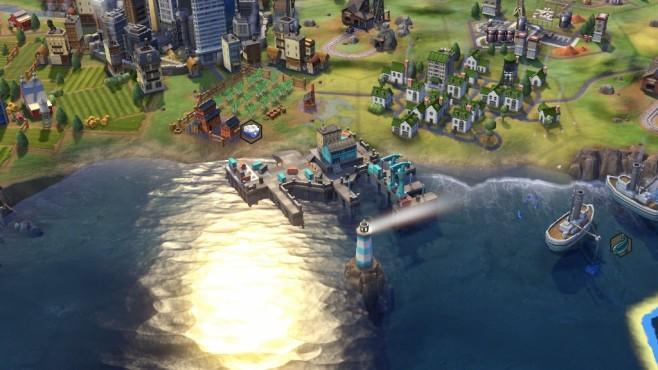 Civilization 6 Hafen ©Firaxis