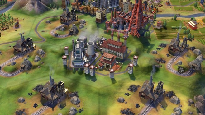Civilization 6 Industriegebiet ©Firaxis