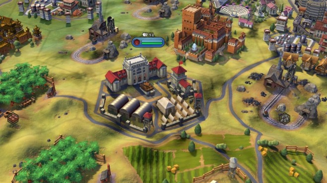 Civilization 6 Lager ©Firaxis