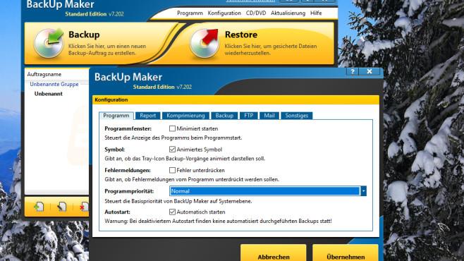 Backup Maker: Assistent-gestützter Sicherungshelfer ©COMPUTER BILD