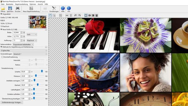 PhotoZoom Pro: Fotos verlufrei vergrößern ©COMPUTER BILD