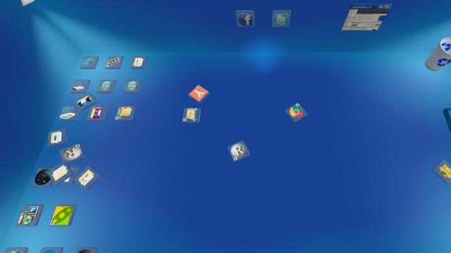 Real Desktop: Arbeitsoberfläche im 3D-Look ©COMPUTER BILD