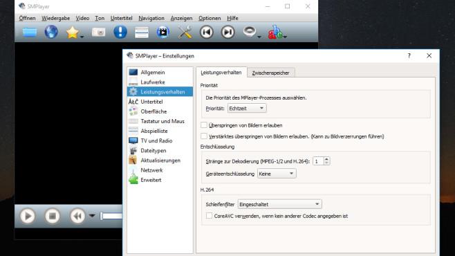 SMPlayer: Mediendateien wiedergeben ©COMPUTER BILD
