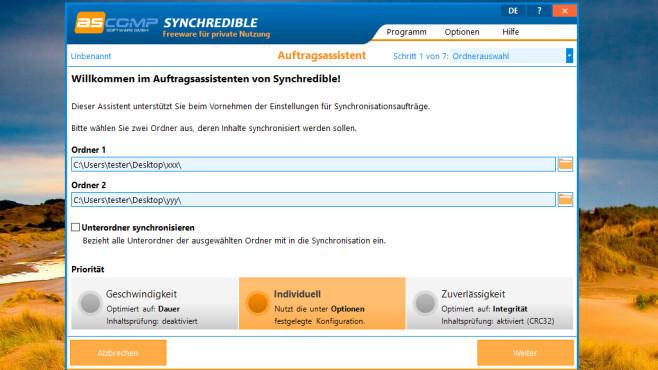 Synchredible: Datei-Versionsstände vereinheitlichen ©COMPUTER BILD