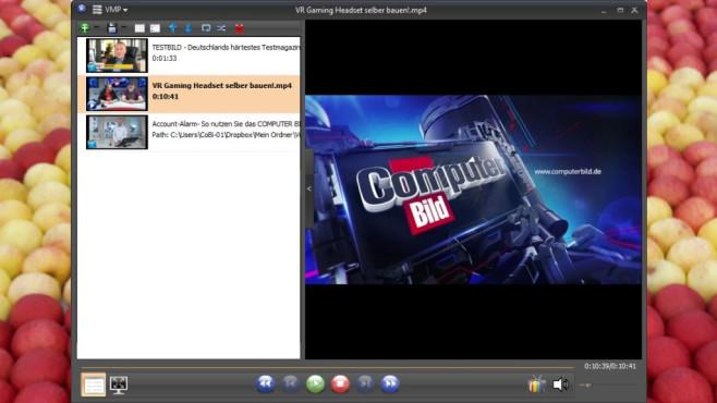 VSO Media Player: Hardwarebeschleunigt abspielen ©COMPUTER BILD