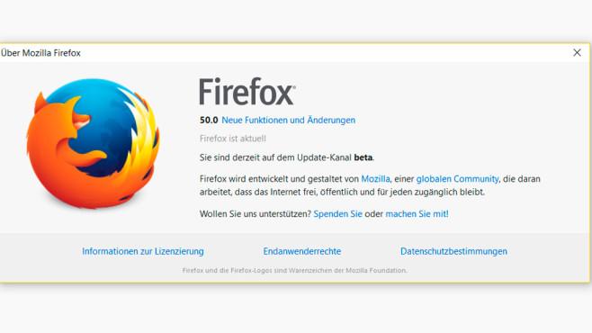 Firefox 64 Bit ©COMPUTER BILD