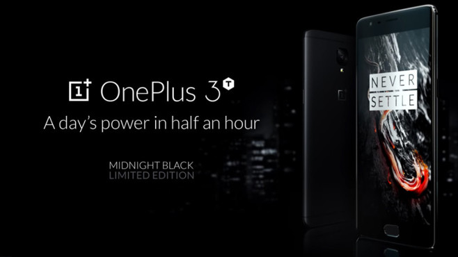 OnePlus 3T Midnight Black ©OnePlus