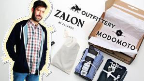 Online-Mode-Ausstatter im Vergleich ©TESTBILD, Curated Shopping GmbH, OUTFITTERY GmbH, Zalando Fashion Entrepreneurs GmbH