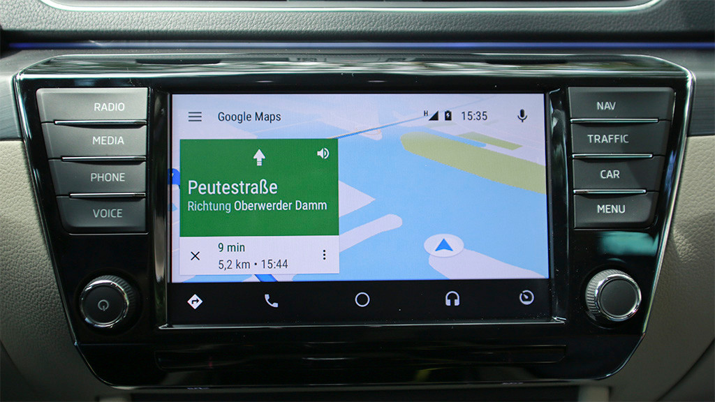 android auto test apps radio computer bild. Black Bedroom Furniture Sets. Home Design Ideas