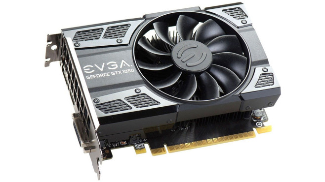 EVGA GeForce GTX 1050 Ti SC GAMING © EVGA