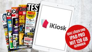 iKiosk-Quiz lösen und iPad Pro gewinnen ©Eugene Sergeev – Fotolia.com, iKiosk, COMPUTER BILD, TESTBILD, AUTO BILD