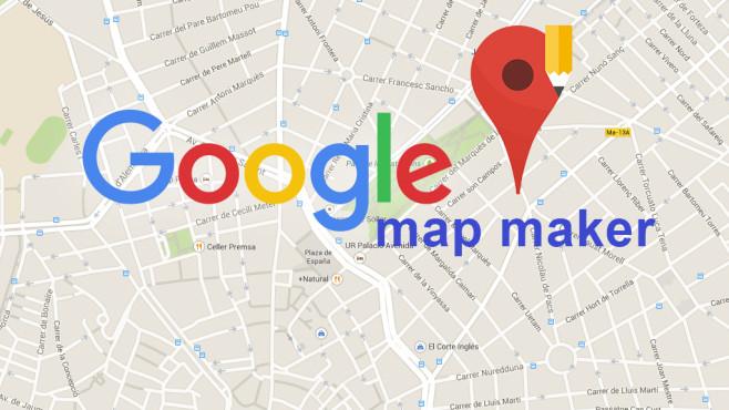 Google Map Maker: Karte ©Google