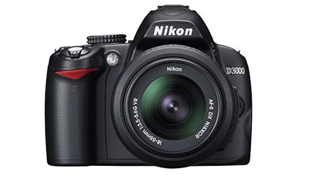 Nikon D3000 SLR-Digitalkamera © Amazon