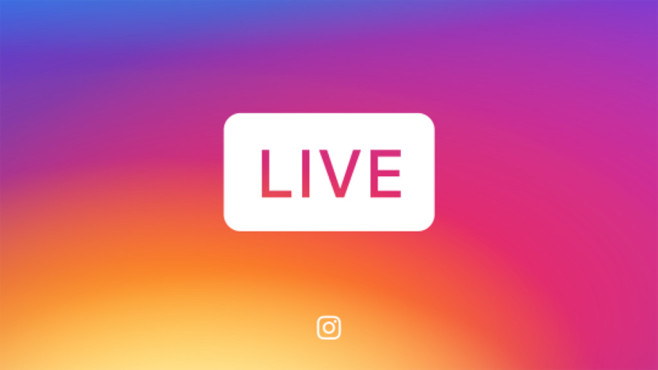 Instagram Live Stories © Instagram