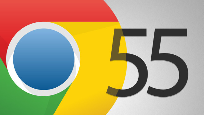 Google Chrome 55 © Google