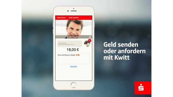 Sparkassen App Kwitt ©MobiFlip