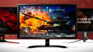 Gaming-Monitore © Acer, Asus, LG, ©istock.com/keport