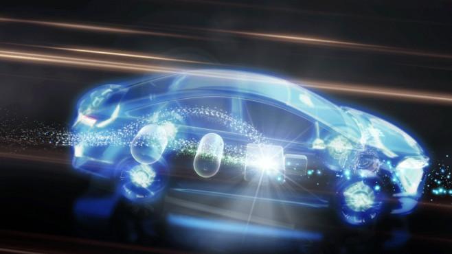 Toyota setzt auf die Brennstoffzellentechnik und Elektromobilität.©Toyota