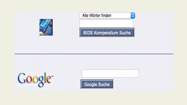Fehlermeldung abfragen ©COMPUTER BILD, BIOS-Kompendium